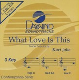 What Love is This, Accompaniment CD