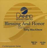 Blessing and Honor, Accompaniment CD
