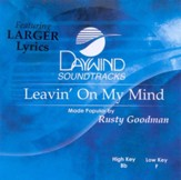 Leavin' On My Mind, Accompaniment CD