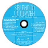 Splendor of Heaven, Split-Track Accompaniment