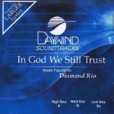 In God We Still Trust, Accompaniment CD