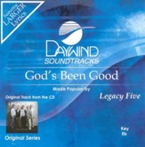 God's Been Good, Accompaniment CD