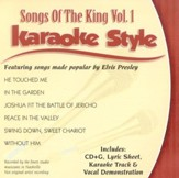 Songs Of The King, Volume 1, Karaoke Style CD
