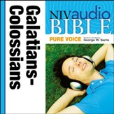 NIV Audio Bible, Pure Voice: Galatians, Ephesians, Philippians, and Colossians, Narrated by George W. Sarris - Special edition Audiobook [Download]