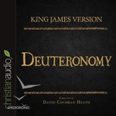 The Holy Bible in Audio - King James Version: Deuteronomy - Unabridged Audiobook [Download]