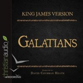The Holy Bible in Audio - King James Version: Galatians - Unabridged Audiobook [Download]