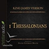 The Holy Bible in Audio - King James Version: 1 Thessalonians - Unabridged Audiobook [Download]