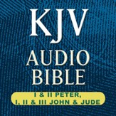 KJV Audio Bible: I & II Peter, I, II, & III John, and Jude (Voice Only) [Download]
