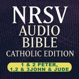 NRSV Catholic Edition Audio Bible: I & II Peter, I, II, & III John, and Jude (Voice Only) [Download]