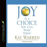 Joy Is a Choice You Can Make Today - Unabridged Audiobook [Download]