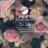 To Me [Music Download]