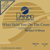 What Held You On The Cross? [Music Download]