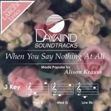 When You Say Nothing At All [Music Download]