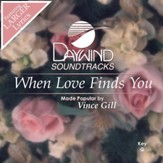 When Love Finds You [Music Download]