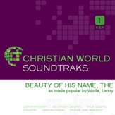 Beauty Of His Name, The [Music Download]