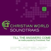 Till The Answers Come [Music Download]