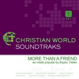 More Than A Friend [Music Download]
