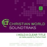 I Hold A Clear Title [Music Download]