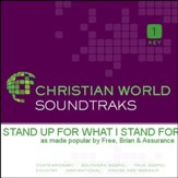 Stand Up For What I Stand For [Music Download]