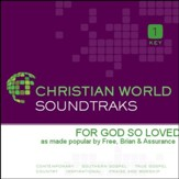 For God So Loved [Music Download]