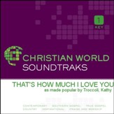That's How Much I Love You [Music Download]
