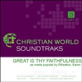 Great Is Thy Faithfulness [Music Download]