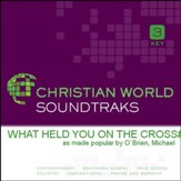 What Held You On The Cross [Music Download]