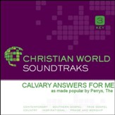 Calvary Answers For Me [Music Download]