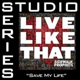 Save My Life (Original Key with Background Vocals) [Music Download]