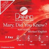 Mary Did You Know [Music Download]