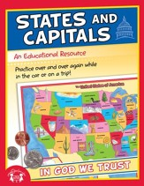 States & Capitals Christian Educational PDF & MP3 [Music Download]