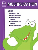 Multiplication Activity Book & Digital Album Download [Music Download]