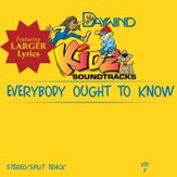Everybody Ought To Know [Music Download]