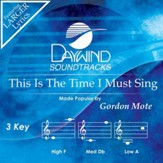 This Is The Time I Must Sing [Music Download]