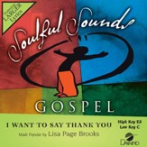I Want To Say Thank You [Music Download]