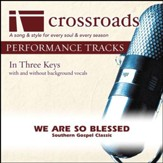 We Are So Blessed (Performance Track High with Background Vocals) [Music Download]