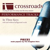 Pieces (Performance Track High with Background Vocals) [Music Download]