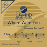Where Were You [Music Download]