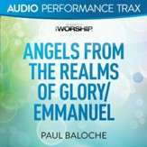 Angels From the Realms of Glory/Emmanuel [Original Key Trax Without Background Vocals] [Music Download]
