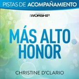 Mas alto honor [Original Key Trax without Background Vocals] [Music Download]