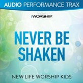 Never Be Shaken (feat. Jared Anderson) [Original Key with Background Vocals] [Music Download]