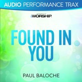 Found In You [Original Key Trax With Background Vocals] [Music Download]