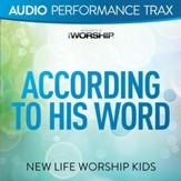 According to His Word (feat. Jared Anderson) [Audio Performance Trax] [Music Download]