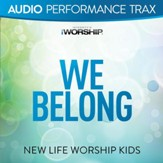 We Belong (feat. Jared Anderson) [Original Key with Background Vocals] [Music Download]