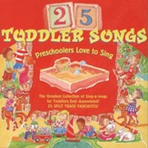 25 Toddler Songs Preschoolers [Music Download]