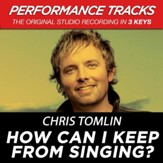 How Can I Keep From Singing (Key-Bb-Premiere Performance Plus w/ Background Vocals) [Music Download]