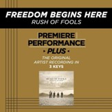 Freedom Begins Here (Key-G#m-Premiere Performance Plus w/o Background Vocals) [Music Download]