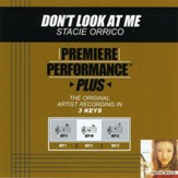 Don't Look At Me (Key-G-Premiere Performance Plus) [Music Download]