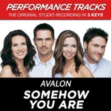Somehow You Are (Key-G-Premiere Performance Plus w/o Background Vocals) [Music Download]