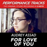 For Love Of You (Medium Key Performance Track With Background Vocals) [Music Download]